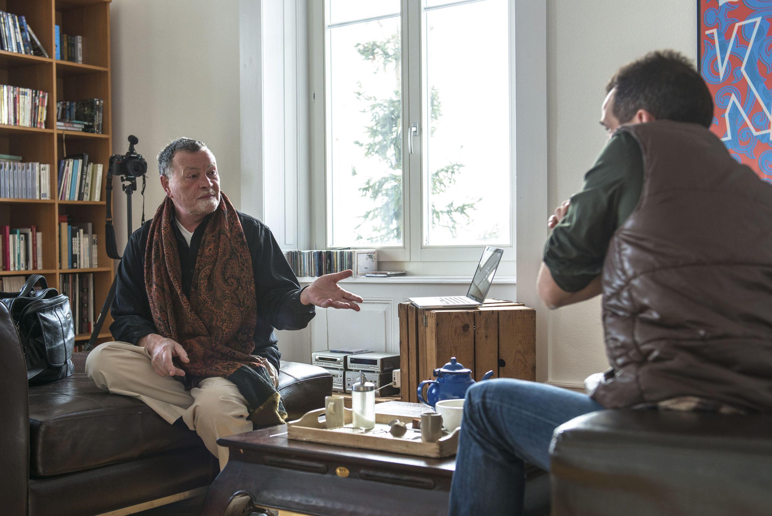 """Interview pour l'émission """"Inérieurs"""" 1/3, la RTS la Première, 20 janvier 2013"""